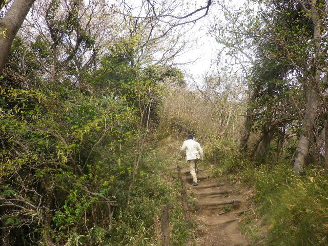 08) 登りの途中
