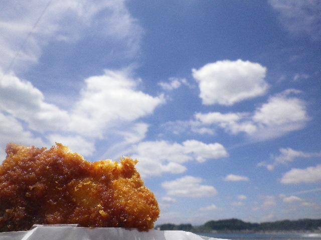 02) チキンカツ食った