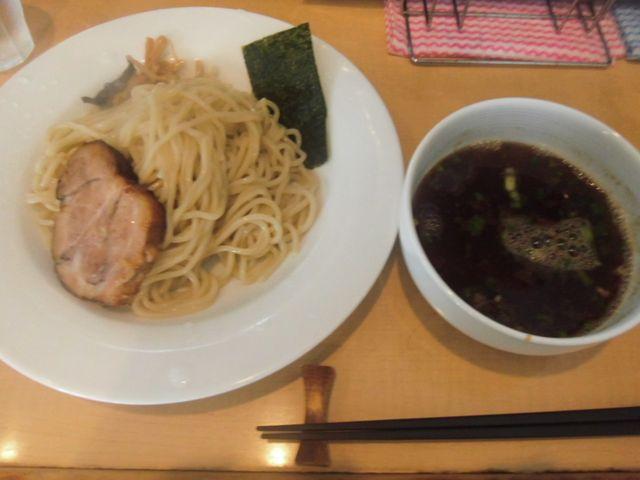 「醤油つけ麺」 ¥850 _ 「湘南麺屋 海鳴 」 鎌倉市小町