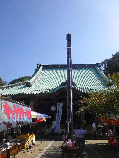 07) 仏像まで延ばされた帯が導かれた遥拝場所