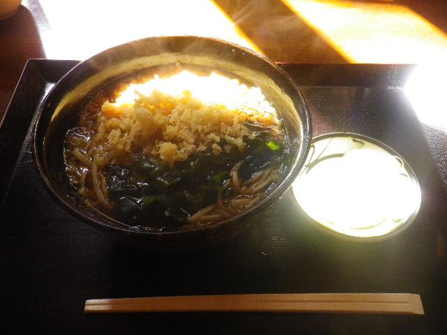 「たぬきそば」 ¥600 _ 「ほり内」 鎌倉市御成町
