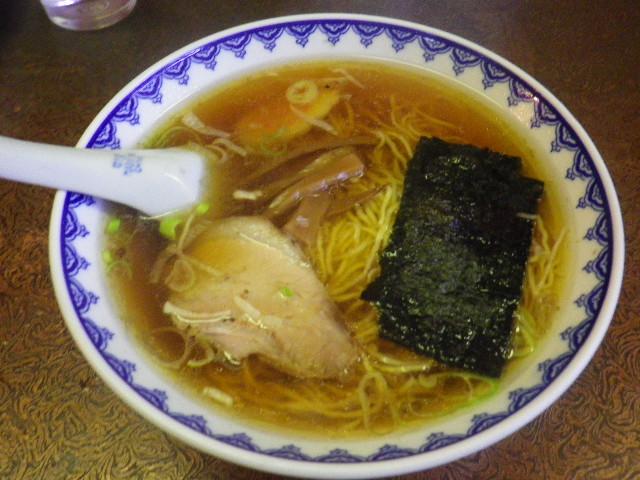 「ラーメン」 ¥500 _ 「盛華園」 鎌倉市材木座