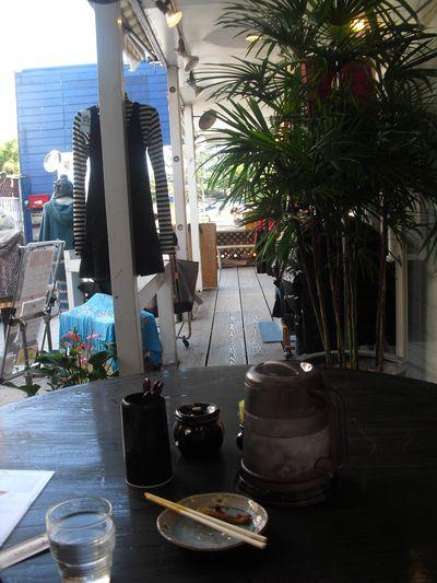 07) 残りのタレで、カレー茶漬けが出来るまでの待ち時間。