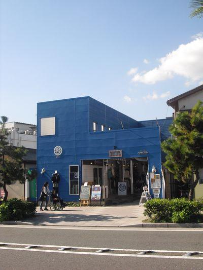 01) 集合店舗の、一番奥。_鎌倉市由比ガ浜、若宮大路 ' 海岸橋 ' 周辺。