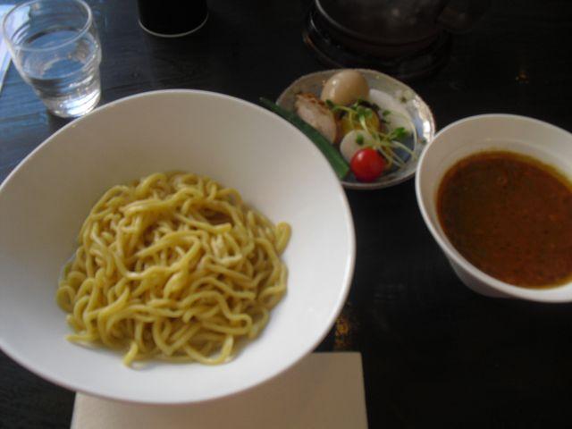 05) ' カレーつけ麺 ' 太麺・並盛・温盛り写真1号
