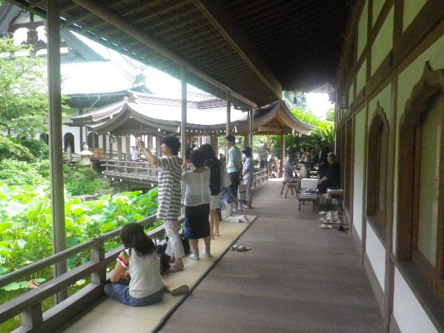 04-5) 開山堂の回廊