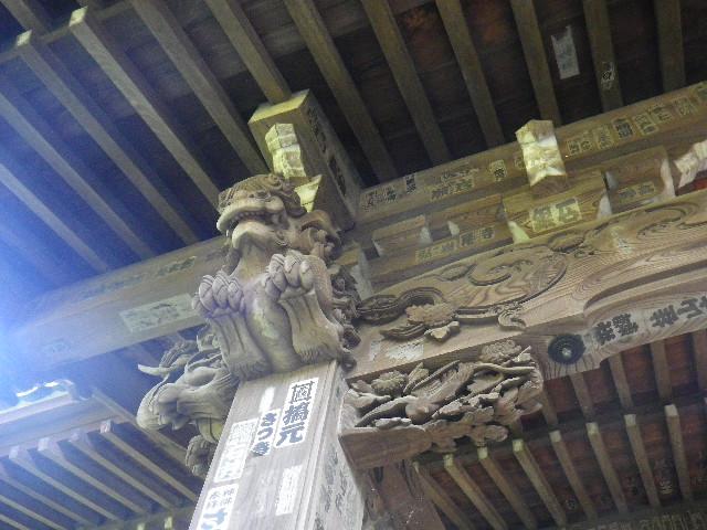 32-1)  15.09.19 鎌倉「宝戒寺」萩をかき分けて境内を歩く季節