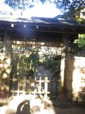 03-3)「富陽庵」山門前にて初詣_ 16.01.14 塔頭伝いに初詣、鎌倉「円覚寺」。