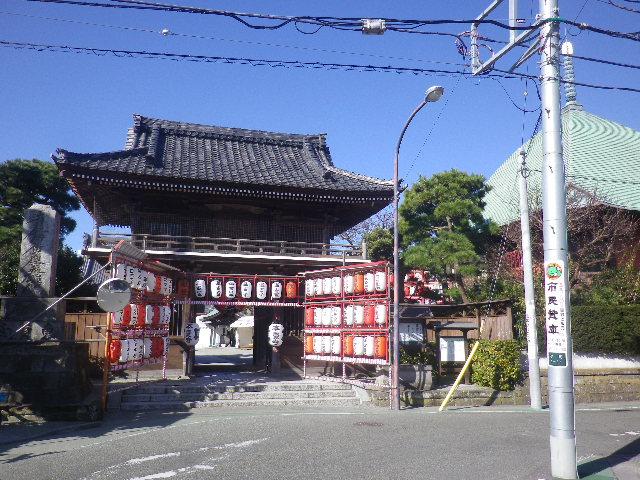 00) 17.01.13 大町「本覚寺」 初詣