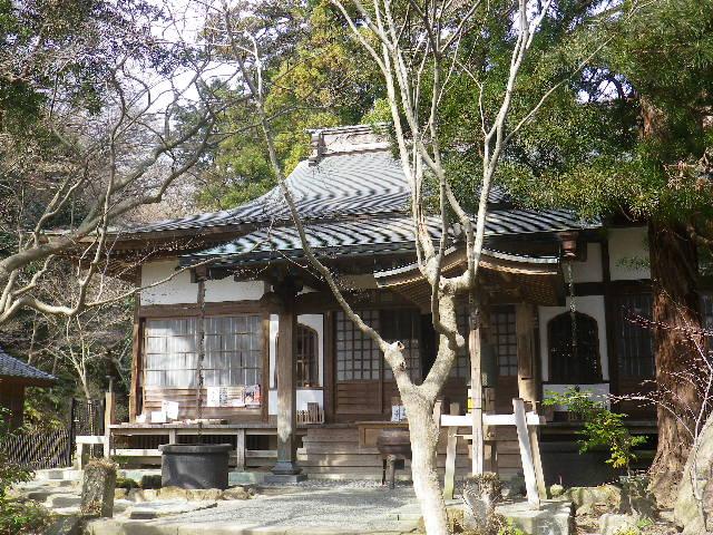 02-1)  境内で撮影を許可されている範囲    17.02.18 鎌倉「覚園寺」 旧友たちの冥福を祈りました