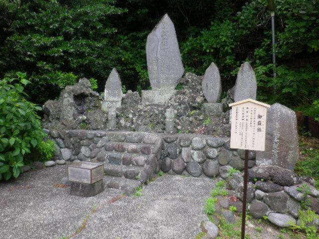 06-2) ' 御嶽社 '      17.05.25 鎌倉「御霊神社」を参拝した