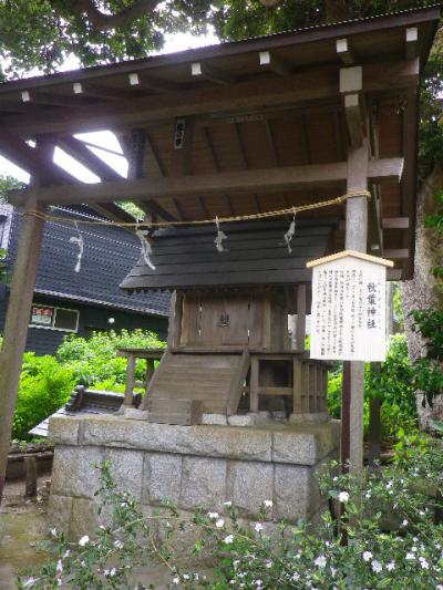 12-2) ' 秋葉神社      17.05.25 鎌倉「御霊神社」を参拝した