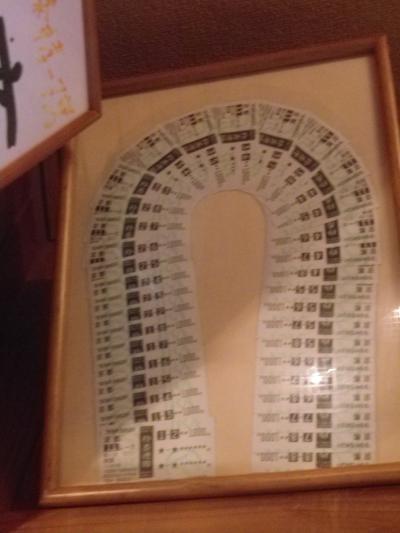 04-2) 大きなレースの当たり馬券を含む、全投票兼だったかナ?_お客さま寄贈の馬券(勝馬投票券/かちうまとうひょうけん) 17.09.05 ラーメン食った _ 鎌倉「喫茶・食事 ほいほい」