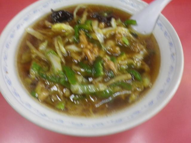 00-1)    17.11.15細切り肉そば食った _ 鎌倉「登華園」