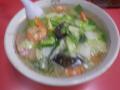 17.12.25 小えび うまにそば食った _ 鎌倉「登華園」