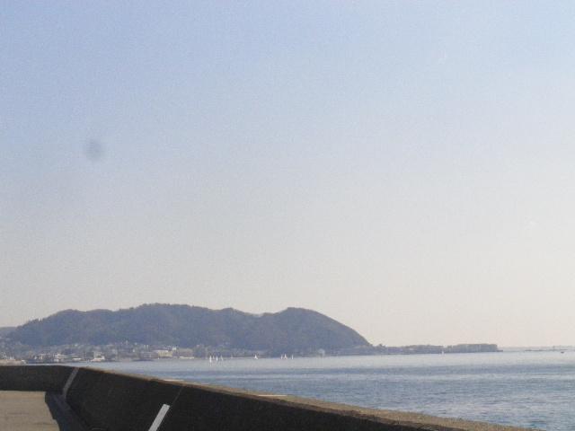 06) 逗子市桜山~奥:三浦郡葉山町の堤防一部分