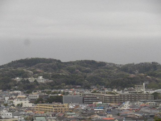 02-1-b) 鎌倉市立第一中学校裏からの眺望