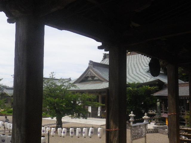 07-1) 大殿から開山堂方向