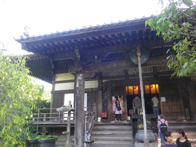 00) 15.09.19 鎌倉「宝戒寺」萩をかき分けて境内を歩く季節