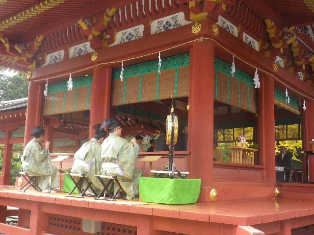 02) ' 舞殿 ' での結婚式 _ 16.11.28 初冬の 鎌倉「鶴岡八幡宮」