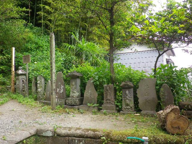07-2) ' 庚申塔 '     17.05.25 鎌倉「御霊神社」を参拝した