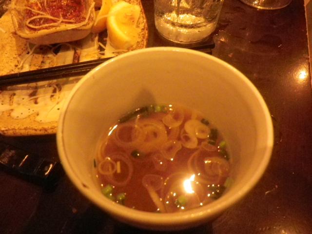 A11)  味噌汁   17.04.29 ' 春の親睦会 ' という名の、内容が空っぽな単なるアレ食ったコレ食った記録。
