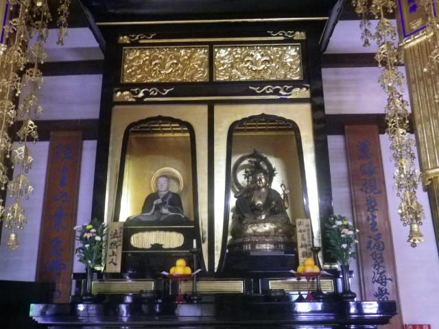 43)    17.07.22 鎌倉「光明寺」 観蓮会 / ' OKですヨ ' 旨が表示されていてもナンダカなぁ・・・ ・・・