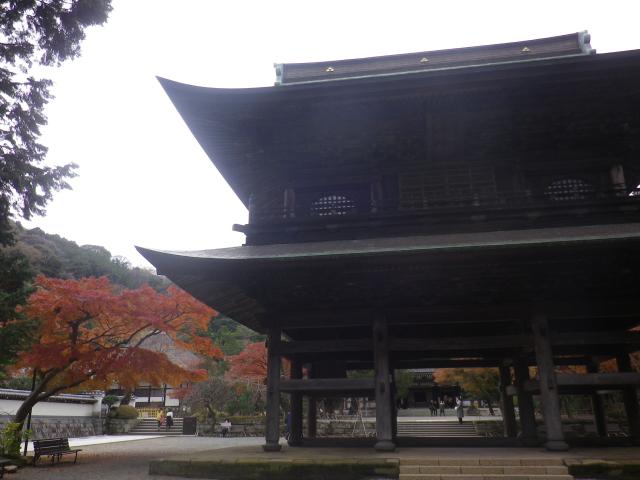 05-1) 山門 17.11.30 紅葉の頃 鎌倉「円覚寺」 / 塔頭