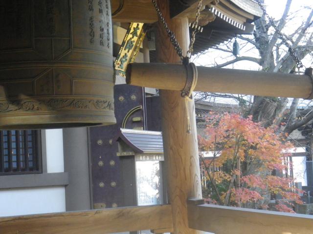 04)   17.12.12 鎌倉「長勝寺」紅葉の終焉をき見とどけた