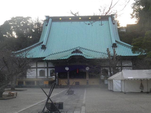 03) 16.01.02 鎌倉「光明寺」初詣