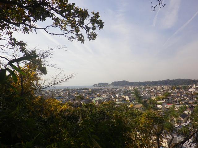 8-13L)  16.11.30 初冬の 鎌倉「安国論寺」