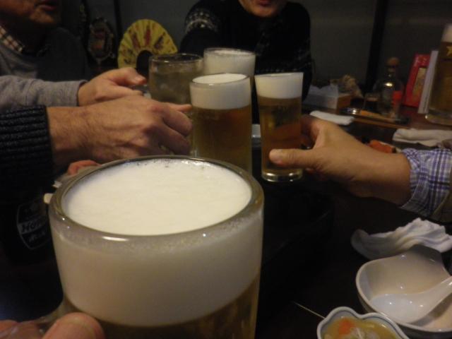 1-03) 乾杯! 17:20pm頃~