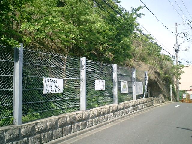 03)   06.05.06 逗子市桜山「鐙摺(あぶずり)の不整合」