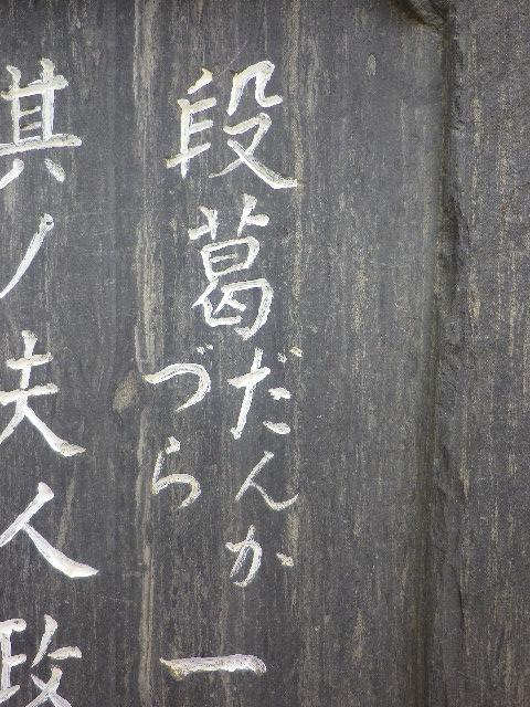 """04)   17.04.10 我 主張ス、 """" 段葛 """" は、' だんか「づ」ら ' だぞっ! _ 鎌倉「鶴岡八幡宮」若宮大路参道"""
