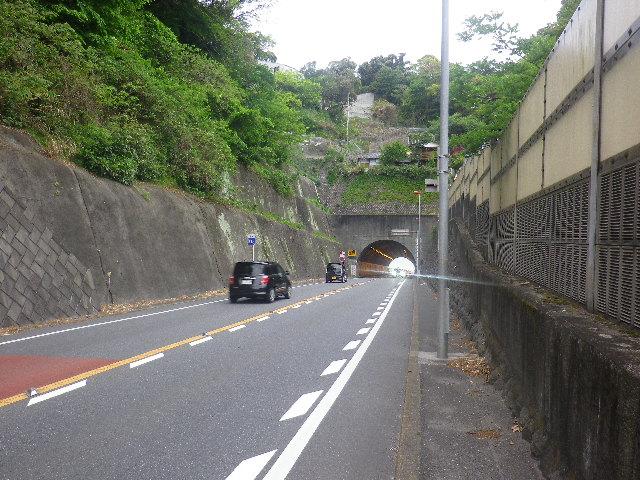 Ex.01) ついでにR134へ踏み入って撮った「飯島トンネル」