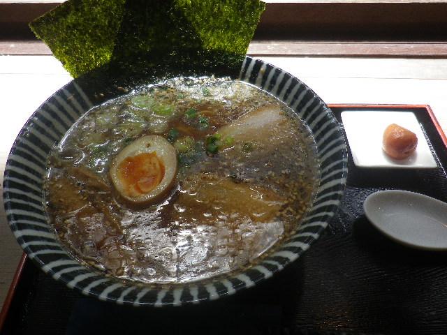 00) 「 和風 らーめん 」 税込¥750  _ 「不動茶屋」 鎌倉市雪ノ下