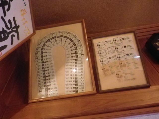 04-1) お客さま寄贈の馬券(勝馬投票券/かちうまとうひょうけん) 17.09.05 ラーメン食った _ 鎌倉「喫茶・食事 ほいほい」