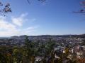 13-2/3a)   17.12.12 鎌倉「安国論寺」今日は富士山が見えたヨ