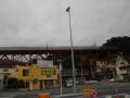 A03-2) 国道135の「真鶴パーキングエリア」から見た東海道本線 ' 白糸川橋梁 ' - コピー